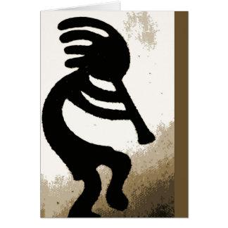 Blank - Kokopelli Card