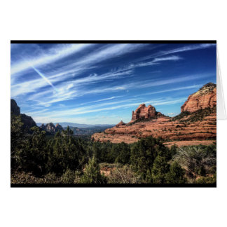 Blank _ Mountains Red Rocks Card
