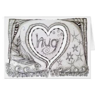 Blank Note Card w/Original Art