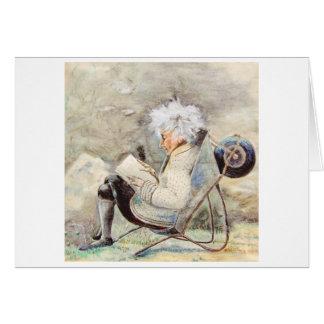Blank Note Card with artist's original artwork