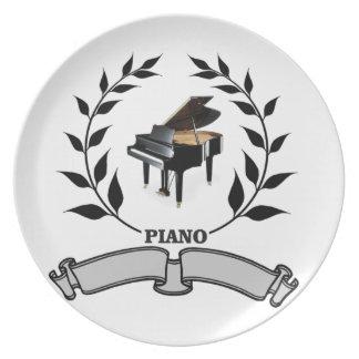 blank piano seal plates