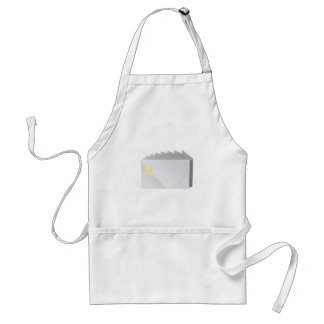 Blank plastic cards with chip standard apron