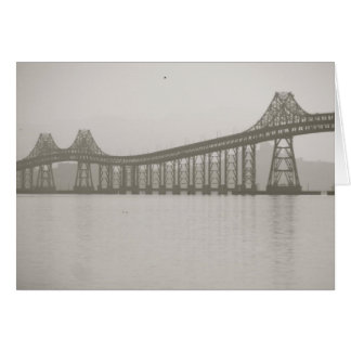 Blank San Rafael Bridge Greeting Cards