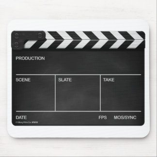 BLANK SLATE / CLAPPERBOARD DESIGN Mouse mat Mouse Pad