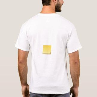 Blank Sticky Note T-Shirt