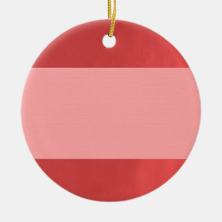 BlanK STRIPE Template DIY add TXT IMAGE EVENT name Ceramic Ornament