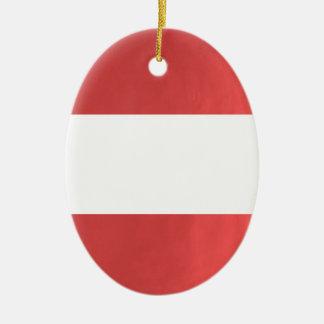 BlanK STRIPE Template DIY add TXT IMAGE EVENT name Ceramic Oval Ornament