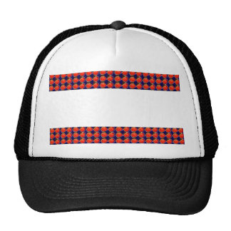BlanK STRIPE Template DIY add TXT IMAGE EVENT name Trucker Hat