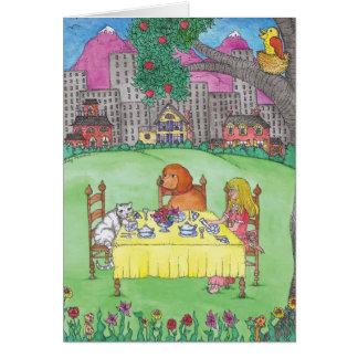 BLANK - Tea Party Card