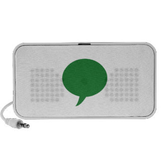 Blank TEXT Template diy add background color gifts iPhone Speaker
