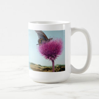 Blank Thistle Mug (Put your info on it)