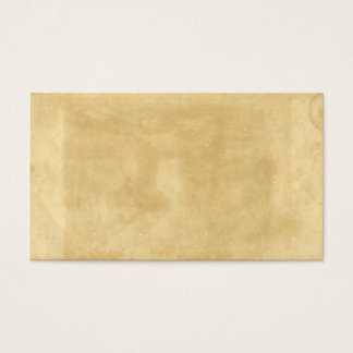 Blank Vintage Aged Stained Old Paper Business Card