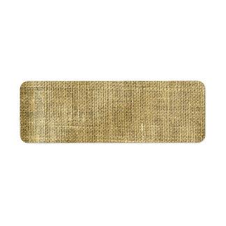 Blank Vintage Beige Burlap Inspired