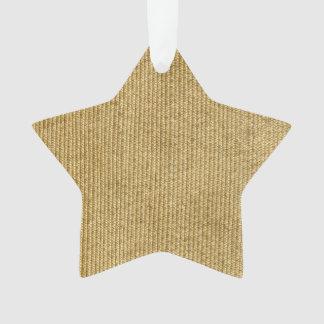 Blank Vintage Wicker Woven Inspired Ornament