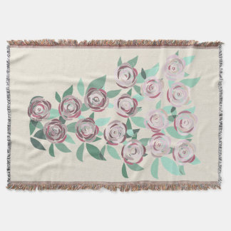 Blanket Blanket Vitral Bouquet of Roses
