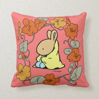 Blanket Bunny Throw Pillow