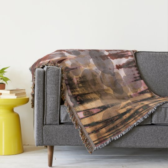 Blanket for decoration throw