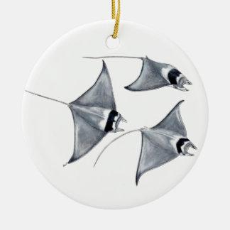 Blanket is weak - ray Mobula to mobular Ceramic Ornament