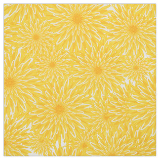 Blanket of Dandelions Fabric