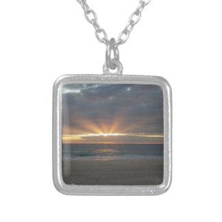 BlanketOfWondersLogoS Silver Plated Necklace
