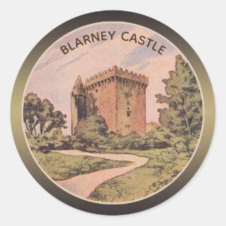 Blarney Castle Classic Round Sticker