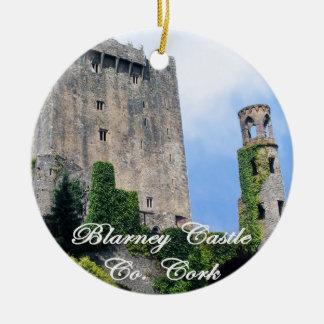 Blarney Castle, Ireland. Irish Christmas Ornament. Ceramic Ornament