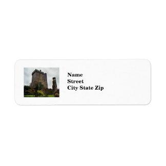 Blarney Castle label