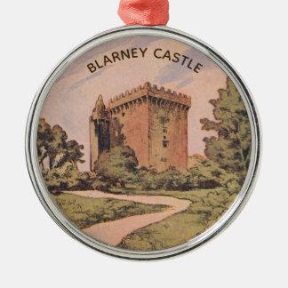Blarney Castle Metal Ornament