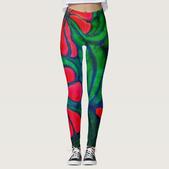 Blast from the Past 70's furniture leggings