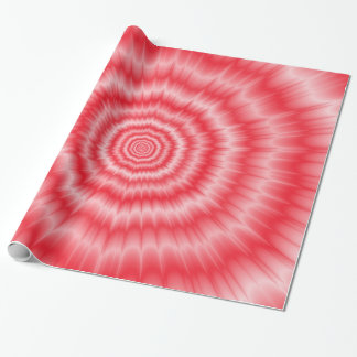 Blast of Pink Wrapping Paper
