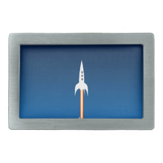 Blast Off! Belt Buckle