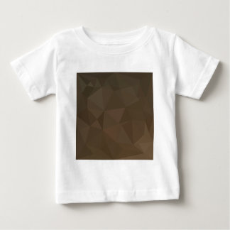 Blast Off Bronze Abstract Low Polygon Background Baby T-Shirt