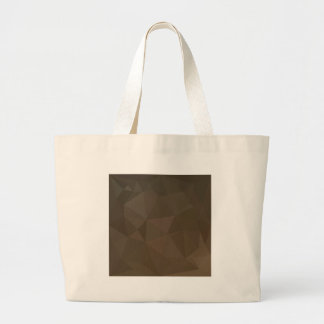 Blast Off Bronze Abstract Low Polygon Background Large Tote Bag