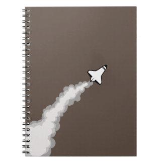 Blast off notebook