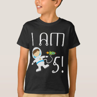 Blast Off Space Birthday Party Kids T-Shirt