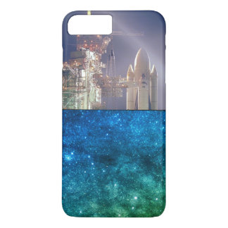 Blast off Space iPhone 8 Plus/7 Plus Case