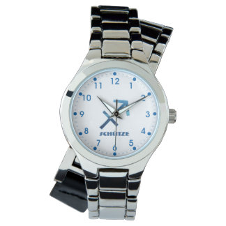 Blau Schütze Sagittarius Zodiac Watch
