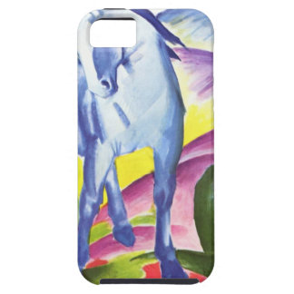 Blaues Pferd I by Franz Marc iPhone 5 Shell iPhone 5 Cover