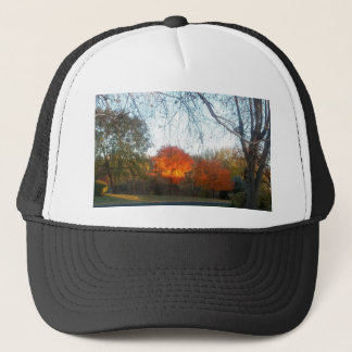Blaze of Fall Trucker Hat