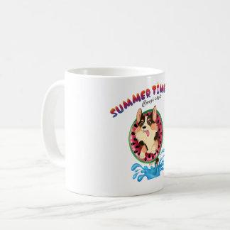 Blaze the corgi coffee mug