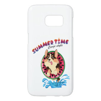Blaze the corgi samsung galaxy s7 case