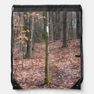 Blazed Trail Marking Drawstring Backpack