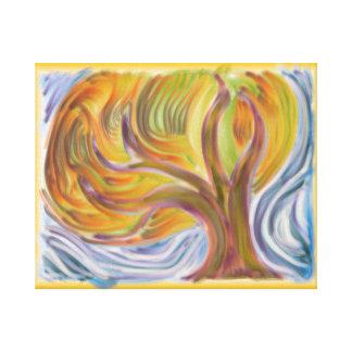 'Blazing Autumn' 20x16 Premium Canvas (Gloss)