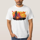 Blazing Bike Rider T-Shirt