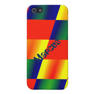 Blazing colors i-phone case iPhone 5/5S cover