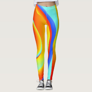 blazing spin - leggings