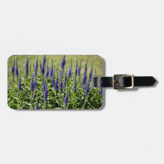 Blazing Star plant flowers Luggage Tag