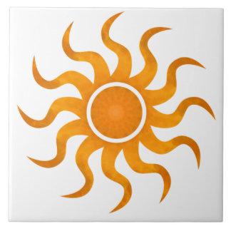 Blazing Sun Customizable Tile - Large