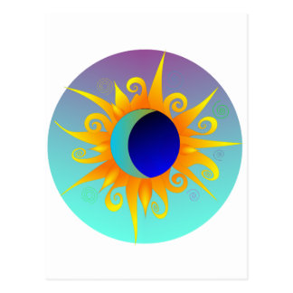 Blazing Sunmoon Postcard