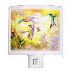 """Blazing Sunset"" Hummingbird Print Nite Light"